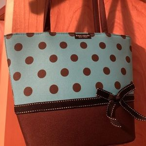 Kate Spade over the shoulder bag.
